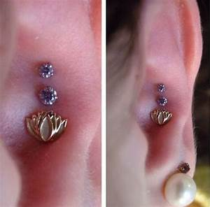 Outer Conch ear piercing - All About Outer Conch Piercings