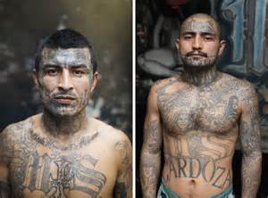 Adam Hinton photographs members of the MS-13 gang.