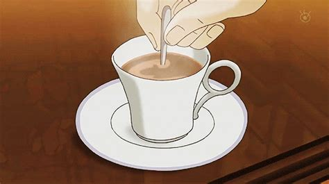 Search, discover and share your favorite coffee illustration gifs. tumblr_ohjr85tQBG1vtp8nvo1_500.png (500×280) | Tea gif, Food illustrations, Aesthetic anime