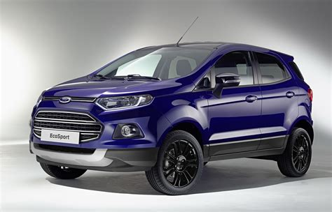 2016 Ford Ecosport Loses Exterior Spare Wheel, Gets