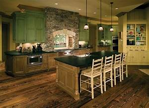 35 eco friendly green kitchen ideas ultimate home ideas With green kitchen cabinets for eco friendly homeowners