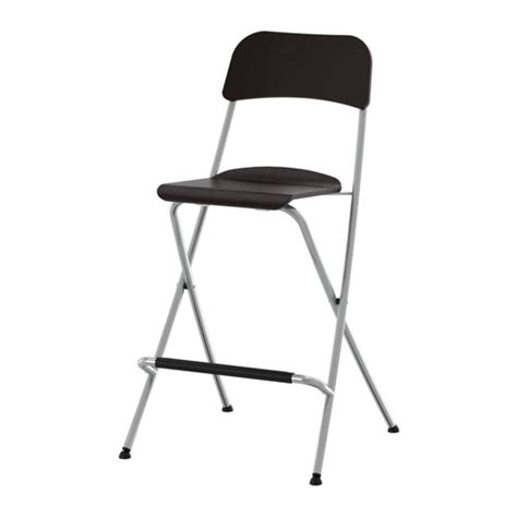 chambre fly franklin bar stool with backrest foldable 24 3 4 quot ikea