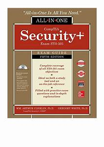 Comptia Security  All In One Exam Guide Pdf