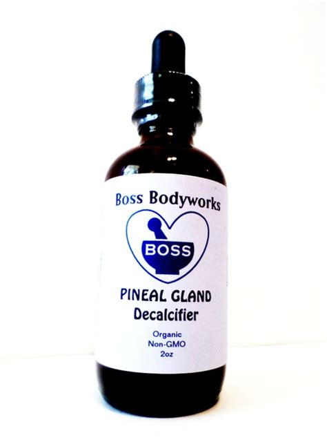organic pineal gland decalcifier stimulate activate