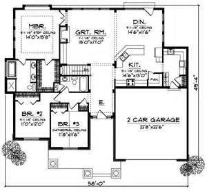 craftsman style house plans 1844 square foot home 1
