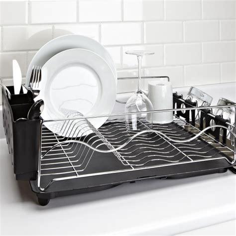 dish drainer rack ksp wave dish rack black kitchen stuff plus