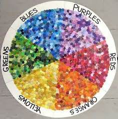 color wheel quote colors are friends of their neighbors