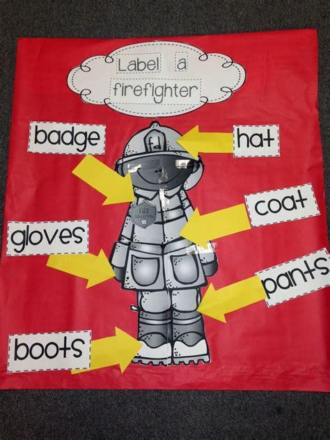 quot label a firefighter quot activity from chalk talk a 748 | d1ea70da72b083a1e7f6e6f5b659093f
