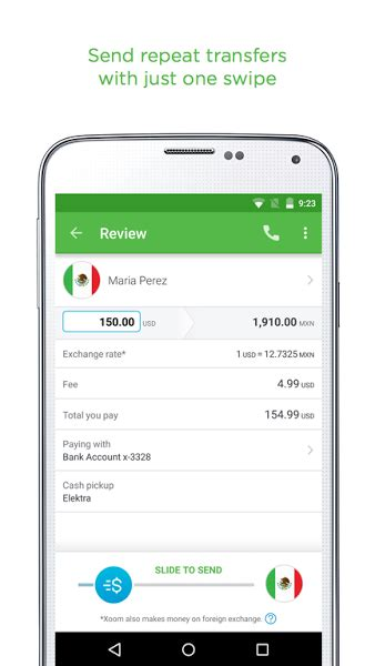 money apps for android xoom money transfer app for android softstribe