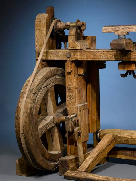 antique woodworkers lathe  stdibs