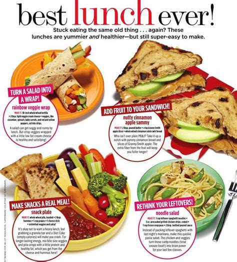 Lunch Ideas The Apple And Peanut Butter Sandwich Sounds
