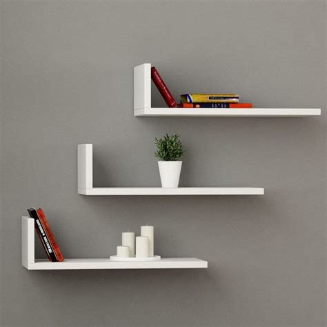 l shaped shelf floating shelves insteading