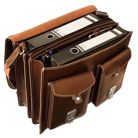 Hamosons ? Large briefcase / teacher bag size XL made out