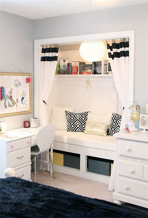 Reading Nook For Bedroom by S Room Closet Reading Nook Updated Home
