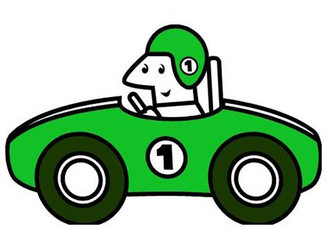 Car Racing Clipart