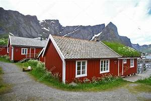 Häuser In Norwegen : traditionelle h user in lofoten norwegen stockfoto bizoon 86138034 ~ Buech-reservation.com Haus und Dekorationen