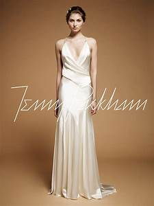 bias cut wedding gown jenny packham drew deco weddings With bias cut wedding dress