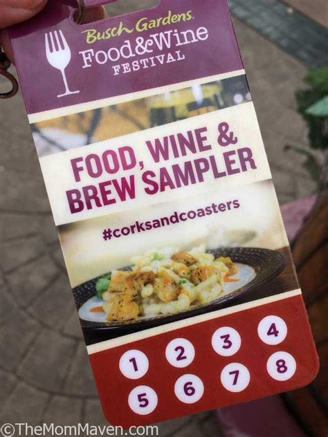 busch gardens food and wine our visit to the 2017 busch gardens food and wine festival