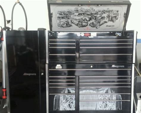 Snap on KRL791 Hot Rod Edition Top and Bottom Tool Box