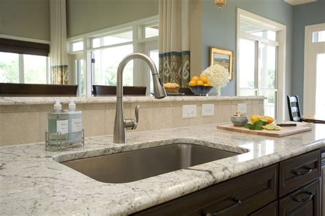 mirrored kitchen backsplash traditional kitchen 4160
