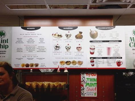 the menu - Picture of Oberweis Ice Cream and Dairy Store ...