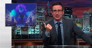 Watch John Oliver skewer the cozy relationship between ...