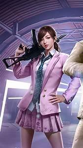 Pubg, Girl, Agent, 4k, Ultra, Hd, Mobile, Wallpaper, In, 2020