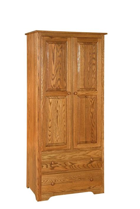 bureau authentic style shaker style amish made wardrobe armoire from dutchcrafters