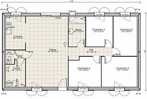 simple exposition plan maison chambres ginkgo biloba fort With good plan de maison 150m2 4 maison plain pied 150m2 26 messages