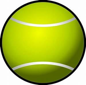 Simple Tennis Ball Clip Art at Clker.com - vector clip art ...