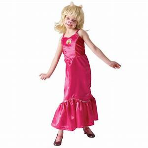 THE MUPPETS ~ Miss Piggy (Deluxe) - Kids Costume - THE ...