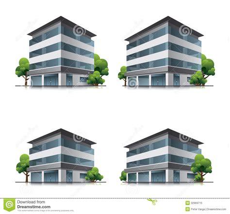 edifici per uffici edifici per uffici o dell hotel con gli alberi