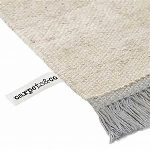 Tapis Blanc Et Gris : tapis gris et blanc moderne smart triangle carpets co ~ Melissatoandfro.com Idées de Décoration
