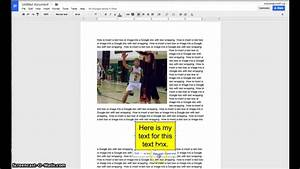 Adding Text Boxes And Images To Google Docs