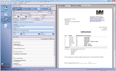 lieferschein software pflichtangaben muster vorlagen