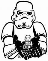 Stormtrooper Coloring Helmet Drawing Printable Getcolorings Drawings Getdrawings Paintingvalley sketch template