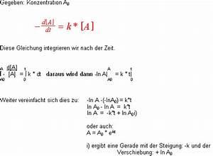 Konzentration Berechnen Chemie : anorganische chemie kinetik ~ Themetempest.com Abrechnung