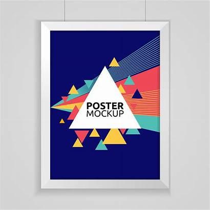 Poster Mockup Vector Clipart Graphics Vectors