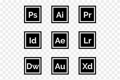 Adobe Suite Icons Icon Creative Logos Clipart