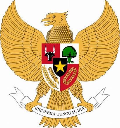 Pancasila Indonesia Arms Coat Konflik Negara Svg
