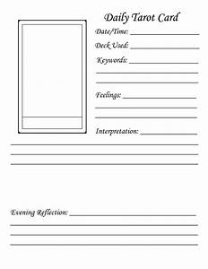 Http wwwfiledencom files 2012 3 10 3276740 my for Tarot journal template