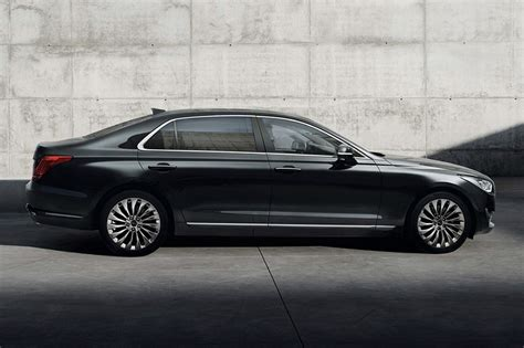 2016 genesis g90 revealed hyundai s new luxury flagship
