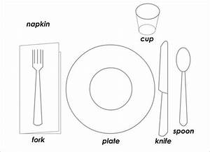 5  Place Setting Templates