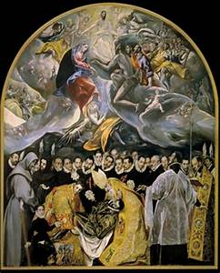 Burial of Count Orgaz, El Greco: Analysis