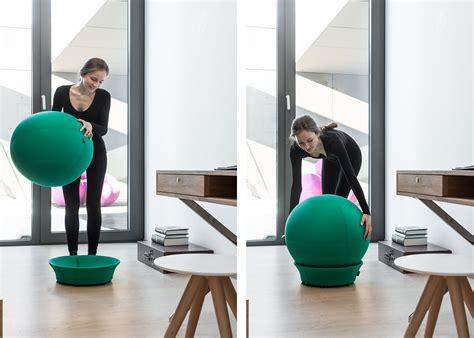 siege ballon siège en forme de ballon de idéal pour un bon maintien chez ksl living