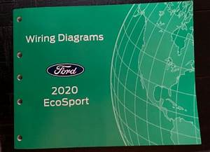 2020 Ford Ecosport Electrical Wiring Diagram Service