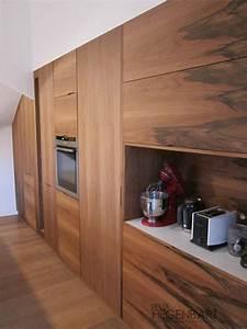 Cuisine équipée Bois : cuisine quip e int gr au mur en bois felix hegenbart ~ Premium-room.com Idées de Décoration
