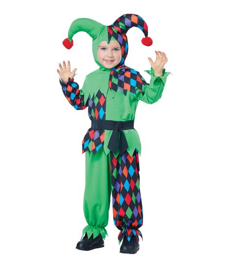 junior jester magical boys costume funny costumes