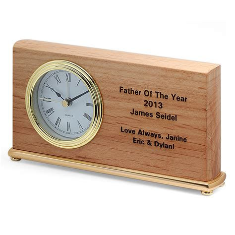 personalized desk clocks personalized of the year desk clock clocks