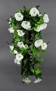 Lang Blühende Pflanzen : petunienranke 65cm wei zf kunstpflanzen k nstliche petunie pflanzen kunstblumen ebay ~ Eleganceandgraceweddings.com Haus und Dekorationen